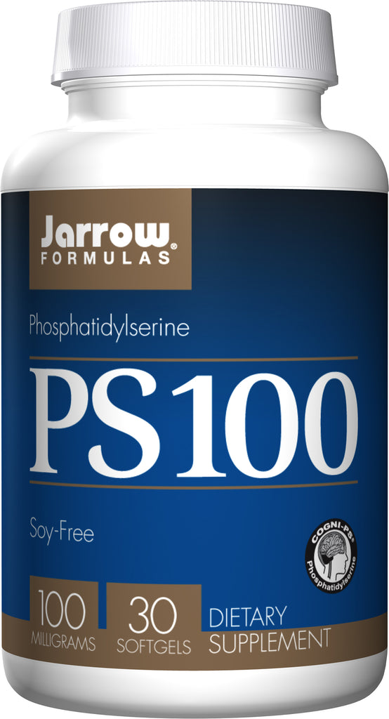 Jarrow Formulas, PS100, Phosphatidylserine, 100 mg, 30 Softgels