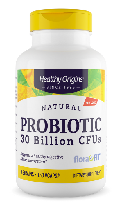 Healthy Origins - PROBIOTIC 30 BILLION CFUS (SHELF STABLE), 2 Sizes