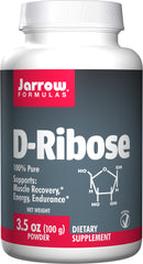 Jarrow Formulas, D-Ribose, Powder, 100g (3.5 oz)