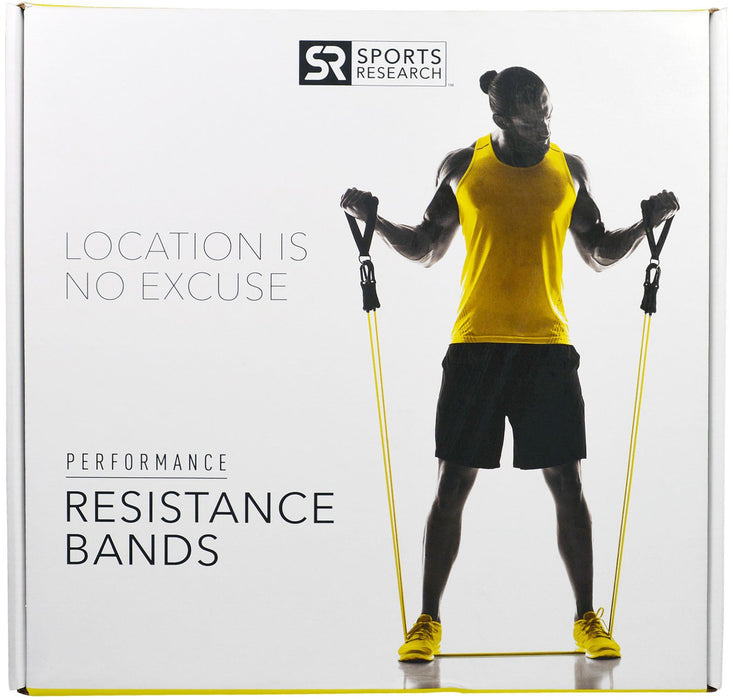 Sports Research - Resistance Bands, 5 Different Weighted Bands