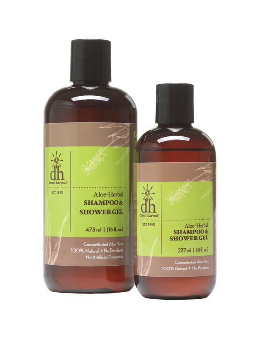 Desert Harvest Aloe Herbal Shampoo & Shower Gel