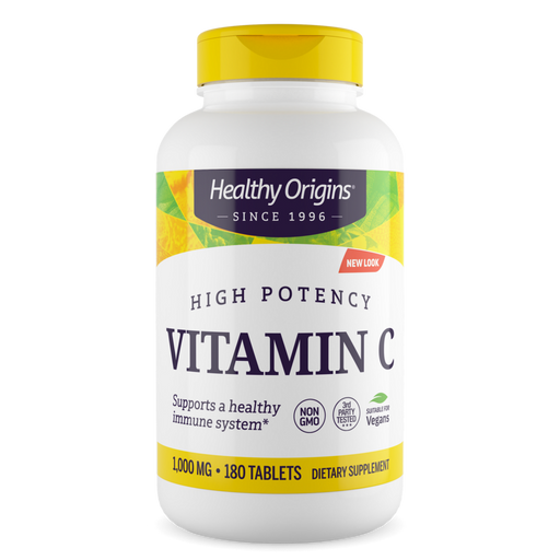 Healthy Origins - VITAMIN C 1,000MG (NON-GMO) TABLETS