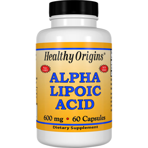 Healthy Origins - ALPHA LIPOIC ACID, 4 Sizes, Capsules