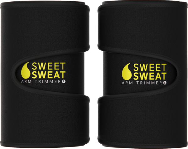 Sports Research - SWEET SWEAT ARM TRIMMERS, MEDIUM, 2 COLOURS