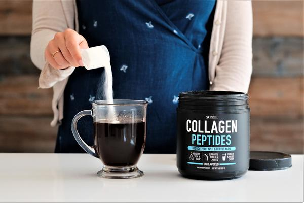 Sports Research - COLLAGEN PEPTIDES, 454g (16 oz)