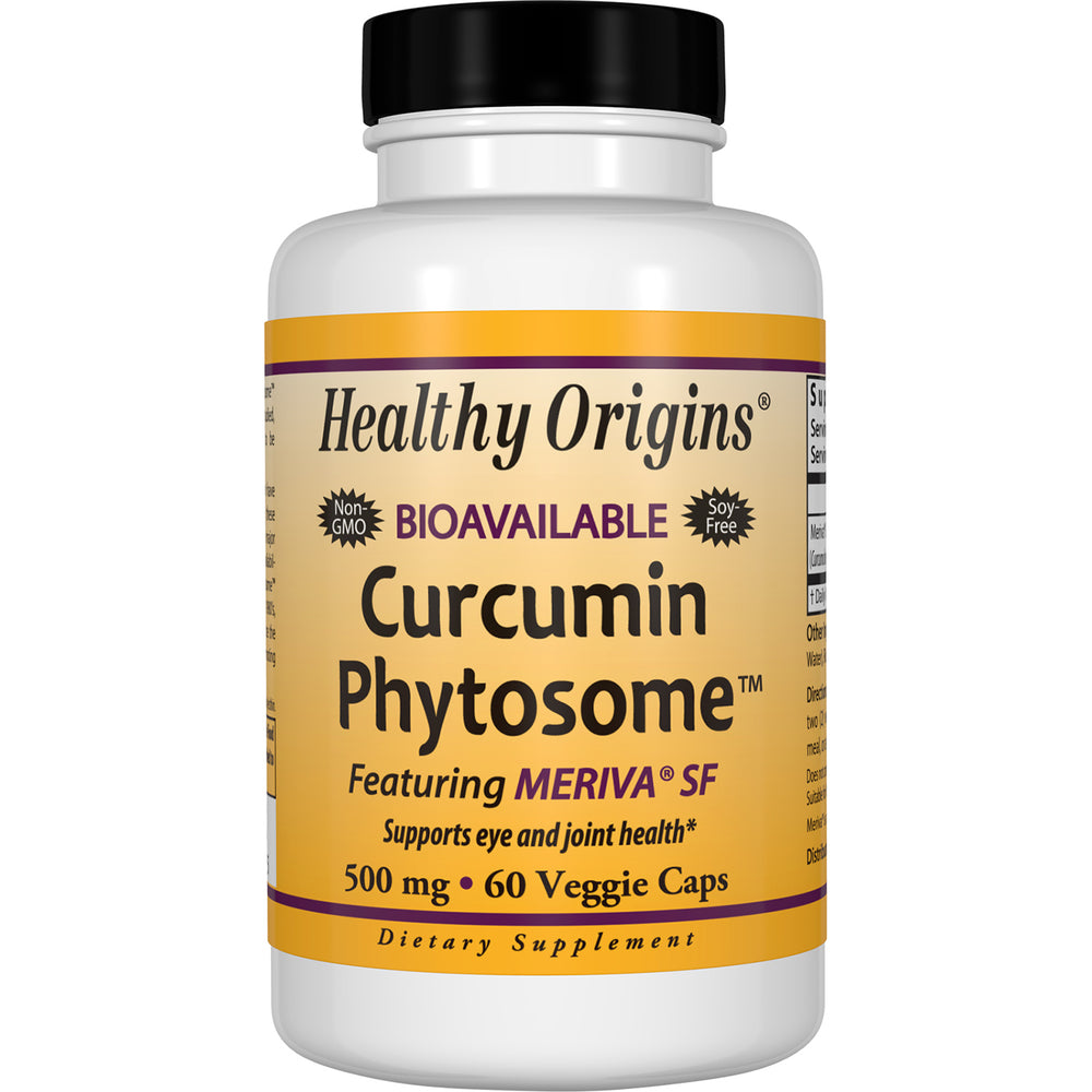 Healthy Origins - CURCUMIN PHYTOSOME, 500MG, 60 VCAPS