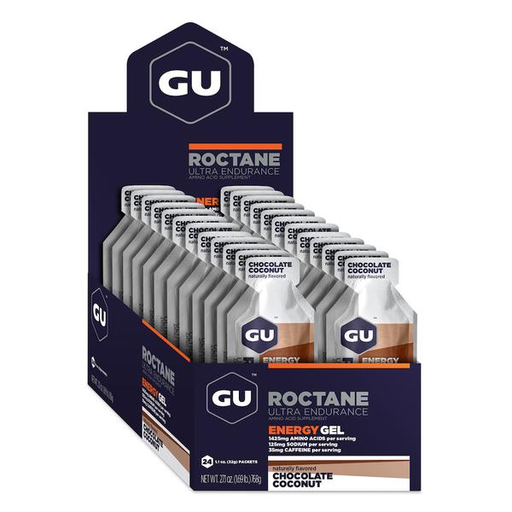 GU Energy Roctane Gel - Chocolate Coconut Box of 24