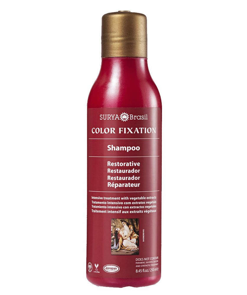 Surya Brasil Fixation Natural Shampoo for Henna Coloured Hair