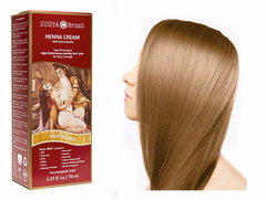 Surya Brasil Henna Cream Kit - Light Blonde 70 ml, Natural Hair Colour