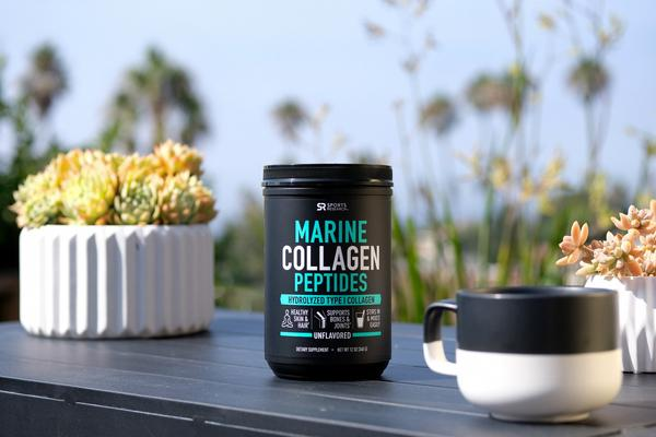 Sports Research - Marine Collagen Peptides, 340g (12 oz)