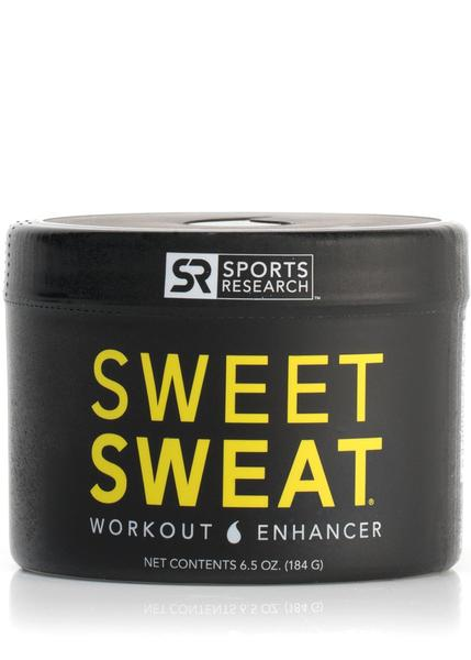Sports Research - Sweet Sweat Jar, Workout Enhancer, 184g (6.5 oz)