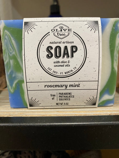 Olive Tree Bar Soap - variety of scents