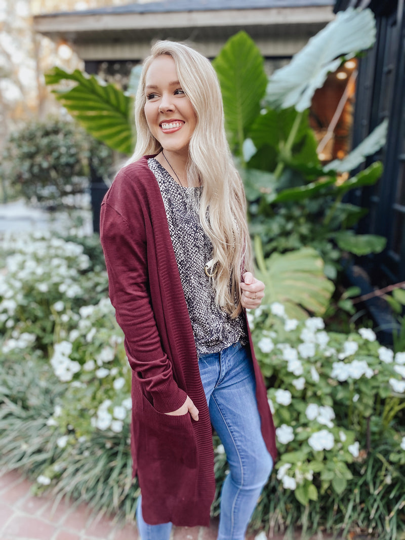 Murphy Duster Cardigan - multiple colors
