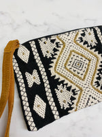 Beaded Travel clutch