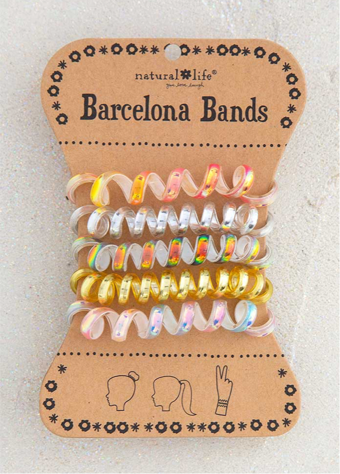 Barcelona Bands- iridescent gold