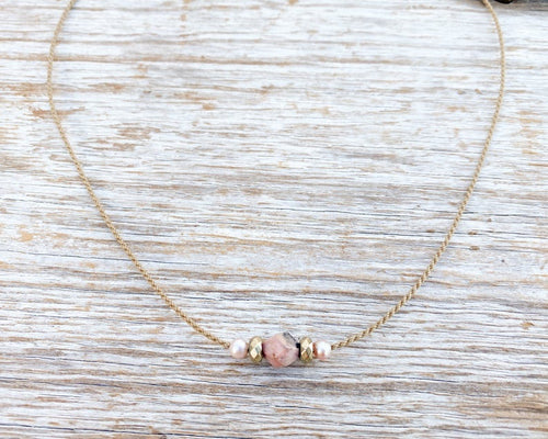 The Jessie - mixed boho necklace
