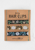 Trim Hair Clip Set - neutral