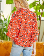 Freebird Top - coral or pink