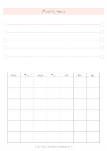 life is getting better everyday planner monthly weekly daily