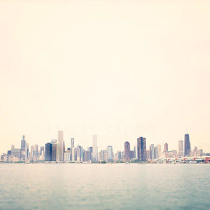 Big Shoulders | Pastel Chicago Skyline - Tracey Capone Photography