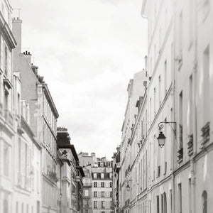 Black & White Paris Photography Print Set | Parisian Wall Decor Tracey Capone Photography