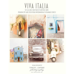 Blank Note Cards | Viva Italia Tracey Capone Photography