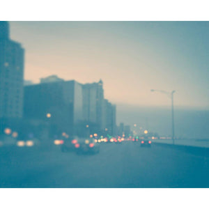 Blue Chicago | Lake Shore Drive at Dusk - Tracey Capone Photography