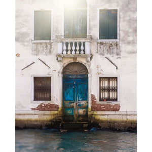 Blue Door In Venice Italy | Travel & Landscape Photography Tracey Capone Photography