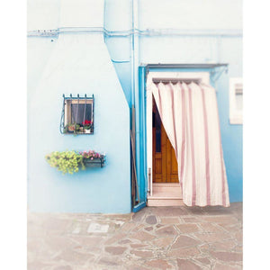 Azzuro | Blue Home in Burano - Tracey Capone Photography