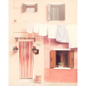 Rosa | Pink House in Burano, Italy-Tracey Capone Photography