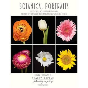 Botanical Portraits | Floral Note Cards - Tracey Capone Photography