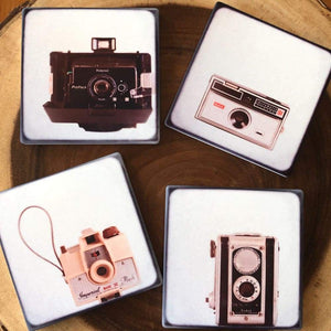 Camera Love Coaster Set Tracey Capone Photography