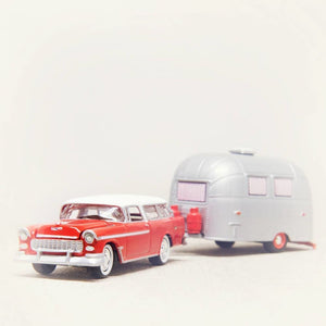 Chevy Nomad & Airstream | Nursery Decor-Tracey Capone Photography