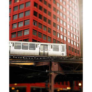 2817 | Chicago CTA Orange Line Train-Tracey Capone Photography