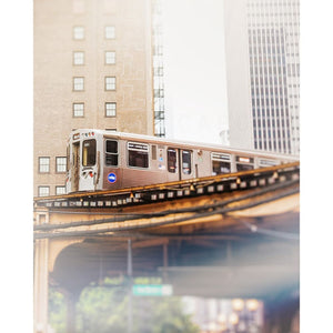 Chicago Photography | Cta L Train In The South Loop Tracey Capone Photography