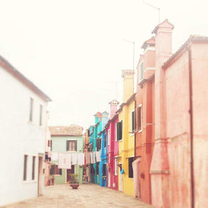Colors Of Burano | Venice Italy Travel Photography Tracey Capone Photography