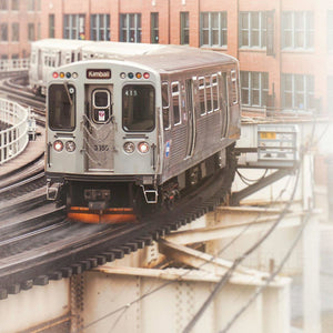 415 (CTA Brown Line Train) - Tracey Capone Photography
