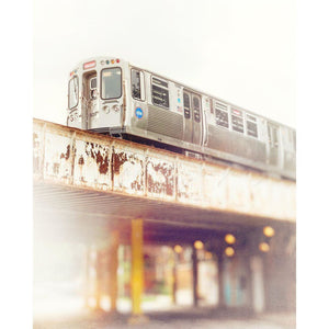 5260 | CTA Red Line Train, Rogers Park - Tracey Capone Photography