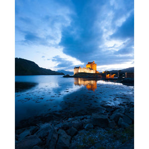Eilean Donan Castle | Scotland Photography | Colorful Wall Art