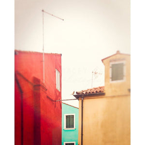 Geometric | Burano Homes, Italy-Tracey Capone Photography