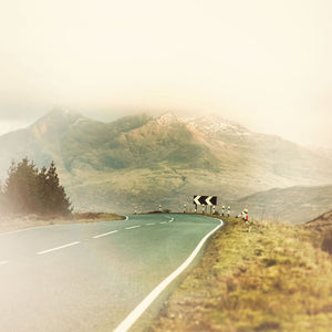 Highlands Of Scotland | Travel Photograph Of Mountains And Road Tracey Capone Photography