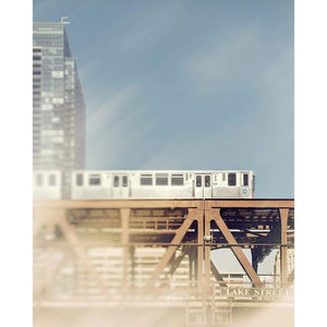 Lake Street | Chicago CTA Train-Tracey Capone Photography