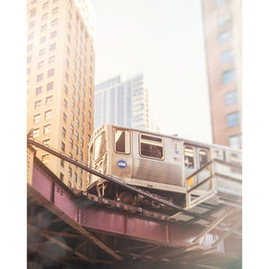 Looping | CTA Orange Line Train-Tracey Capone Photography