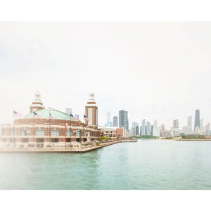 Navy Pier Photograph | Chicago Home Decor Tracey Capone Photography