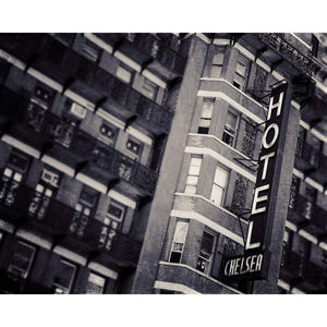 New York City Architecture | Hotel Chelsea In Black + White Tracey Capone Photography