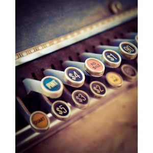 No Sale | Vintage Cash Register-Tracey Capone Photography