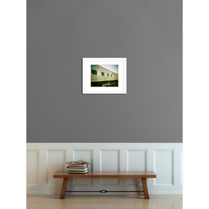 Northern Pacific | Vintage Train Decor-Ready to Hang Wood Photo Block-Tracey Capone Photography