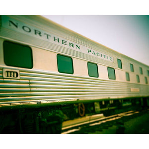 Northern Pacific | Vintage Train Decor-Tracey Capone Photography