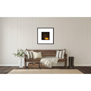 Orange Pumpkin No. 1 | Autumn Wall Decor-Archival Lustre Print in Frame-Tracey Capone Photography