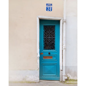 Paris Door Photograph | Montmartre Wall Art Print Tracey Capone Photography